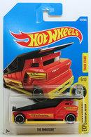 The Embosser | Model Trucks | HW 2017 - Collector # 244/365 - Experimotors 6/10 - The Embosser - Red - International Long Card