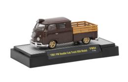 1961 VW Double Cab Truck USa Model | Model Trucks