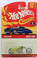 Blast Lane | Model Motorcycles | HW 2007 - Classics Series 2 # 26/30 - Blast Lane - Spectraflame Antifreeze - International Long Card