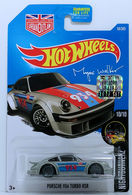 Porsche 934 Turbo RSR | Model Cars | HW 2017 - Collector #68/365 - Nightburnerz #10/10 - Porsche 934 Turbo RSR - Gray - USA Card with Factory Set Sticker