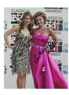 Katherine jenkins and hayley westernra autographs posters and prints f3ba0412 028a 42ed 860a 53ca522675bf medium