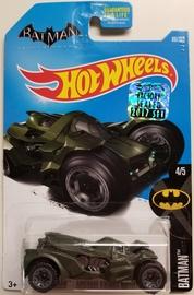 Batman: Arkham Knight Batmobile    Model Cars   HW 2017 - Collector #88/365 - Batman 4/5 - Batman: Arkham Kight Batmobile - Dark Olive Green - Factory Sealed USA Card