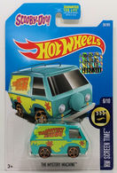 The Mystery Machine | Model Trucks | HW 2017 - Collector # 028/365 - HW Screen Time 6/10 - The Mystery Machine - Aqua - USA Card with Factory Set Sticker