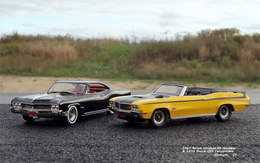 1967 Buick Wildcat GS Hardtop & 1970 Buick GSX Convertible | Model Vehicle Sets | photo: JCarnutz