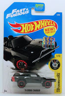 '70 Dodge Charger | Model Cars | HW 2017 - Collector # 004/365 - Experimotors 1/10 - '70 Dodge Charger (Fast & Furious) - Black - USA Card with Factory Set Sticker