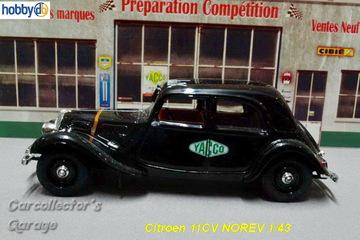 Citroën 11CV | Model Cars