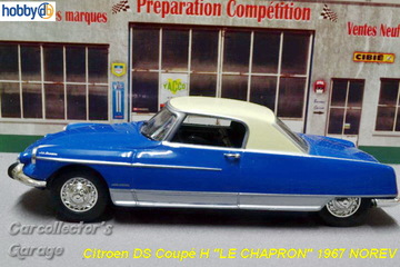 "Citroën DS Coupé H 1967 ""Le Chapron"" 
