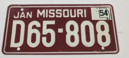 Missouri Cereal License Plate | License Plates