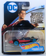 Superman  | Model Cars | HW 2017 - Character Cars / DC Comics / Justice League FBC70 - Superman (Man of Steel) - Dark Blue & Red