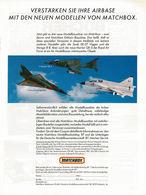 Verstärken Sie Ihre Airbase mit den neuen Modellen von Matchbox. | Print Ads