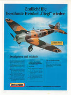 "Endlich! Die berühmte Heinkel ""fliegt"" wieder. | Print Ads"