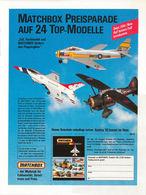 Matchbox Preisparade auf 24 Top-Modelle | Print Ads