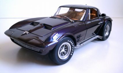 Chevrolet 63 Corvette Grand Sport  Model Cars  hobbyDB