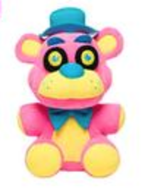 Freddy (Pink Blacklight) | Plush Toys