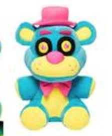 Freddy (Blue Blacklight) | Plush Toys