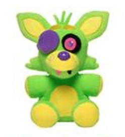 Foxy (Green Blacklight) | Plush Toys