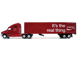 Coca Cola 'It's the Real Thing' Tractor Trailer | Model Vehicle Sets