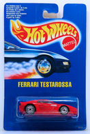 Ferrari Testarossa    | Model Cars | HW 1990 - Toy # 5111 - Ferrari Testarossa - Red - UH Wheels - International Blue Card