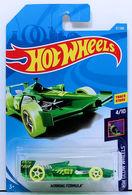 Winning Formula | Model Racing Cars | HW 2018 - Collector # 037/365 - HW Glow Wheels 4/10 - Winning Formula - Green - International Long Card
