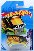 Aero Pod | Model Trucks | HW 2018 - Collector # 033/365 - HW Glow Wheels 2/10 - Aero Pod - Black - International Long Card