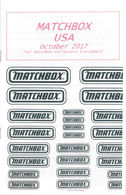 Matchbox USA Magazine October 2017 | Magazines & Periodicals