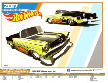 Hot Wheels Collectors Edition E-Sheet | Posters & Prints | Hot Wheels Collectors Edition 6 56 Chevy Convertible