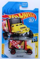Baja Hauler   Model Trucks   HW 2018 - Kmart Exclusive - HW City Works 2/10 - Baja Hauler - Black, Red & Yellow - USA Card