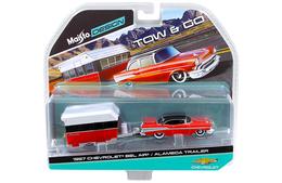 1957 Chevrolet Bel Air & Alameda Trailer | Model Vehicle Sets