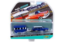 1962 Chevrolet Biscayne Wagon & Alameda Trailer | Model Vehicle Sets