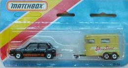 M87-e VW Gold and MB43 Pony Trailer   Model Vehicle Sets