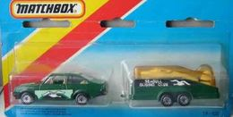 Ford Escort RS2000 with Glider Trailer | Model Vehicle Sets