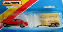 Ford Cortina and Pony Trailer | Model Vehicle Sets