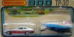 MB67-d Datsun with Seafire Boat | Model Vehicle Sets