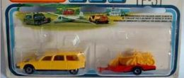 Citroen with Motorcycle trailer | Model Vehicle Sets