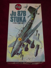 Airfix JU87B-2 STUKA | Model Aircraft Kits