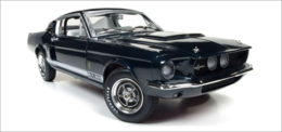 1967 Ford Shelby Mustang GT 500 2+2 Nightmist Blue Metallic | Model Cars