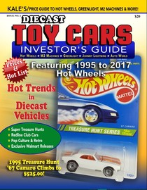 Kale's Diecast Toy Cars (1995-2017 Hot Wheels Price Guide) | Books
