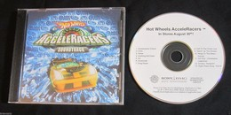 Hot Wheels AcceleRacers Soundtrack (Promotional) | Audio Recordings (CDs, Vinyl, etc.) | Promo had white CD, while final release had a blue CD adorned with the AcceleRacers logo