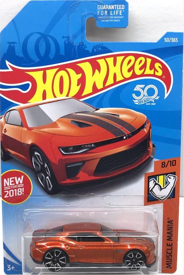 '18 Camaro SS | Model Cars | hobbyDB