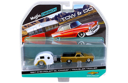 1967 Chevrolet El Camino & Traveler Trailer | Model Vehicle Sets