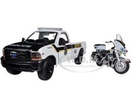 1999 Ford F-350 Super Duty Pickup  with 2004 FLHTPI Electra Glide | Model Vehicle Sets