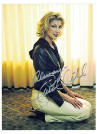 "Faith Hill--""This Kiss--Breathe"" Autograph with C.O.A. 