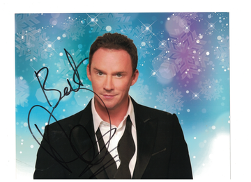 """Russell Watson  """"La Voce"""" Autograph with C.O.A. 