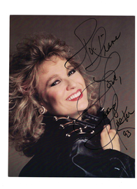 Tanya Tucker Signed Autograph-1993 | Posters & Prints