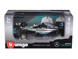 Mercedes F1 W07 Hybrid - Nico Rosberg - Winner Australian Grand Prix 2016 | Model Racing Cars