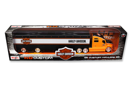 Harley Davidson Custom Hauler Trailer | Model Trucks