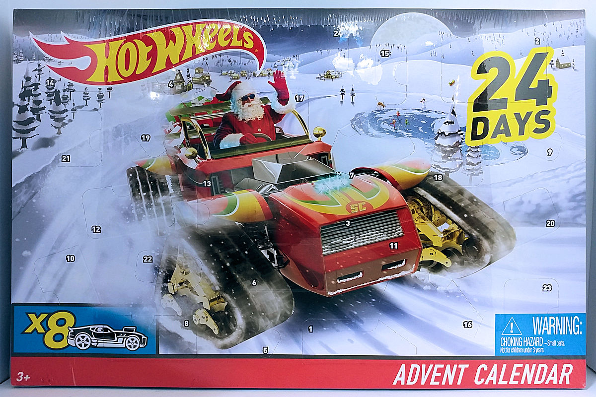 Hot Wheels Advent Calendar 2017 Model Vehicle Sets Hobbydb