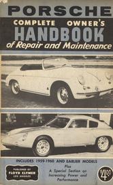 Porsche Complete Owner's Handbook of Repair & Maintenance | Manuals & Instructions