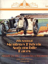7th annual monterey historic automobile races %25281980%2529 event programs 247eb6cc b107 4771 ba0d 5a437b004ad5 large