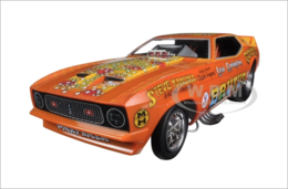 1971 Ford Mustang NHRA Funny Car Limited Edition | Model Cars